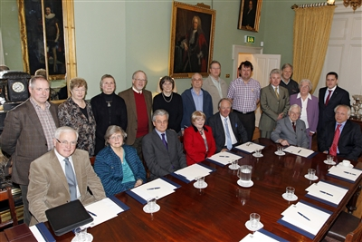 Participants at the Forum on Irish Clans, Past, Present and Future