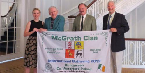 2019 McGrath Gathering Flag in Washington for July 4th