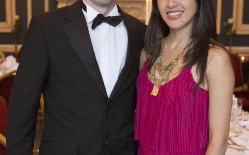 Ronan Rafferty and Teresa O'Higgins