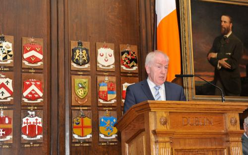 Minister Deenihan addressed the clans