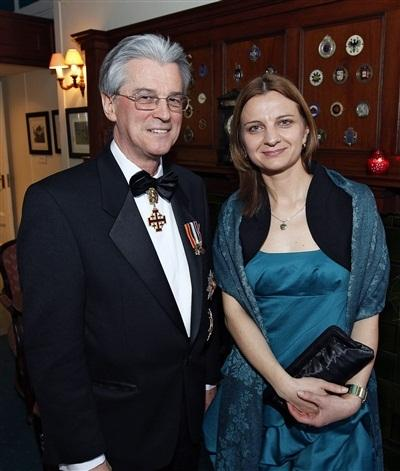 Ambassador O'Donnell and Ms. Vera Dragovic