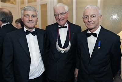 Mr. Aidan Mulvihill, Dr. Michael J. Egan and Mr. Tim O'Neill CIOM