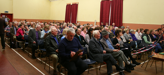the Mannion Clan in Menlough Community Centre, County Galway on Friday 29 August 2014
