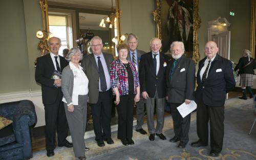 Former board members at 2014 AGM