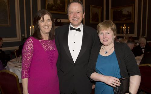 Rita and Gabriel Keane with  Maire Ní Chearbhaill